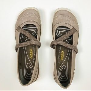 KEEN Rivington II Mary Janes Taupe Size 9.5 NWT